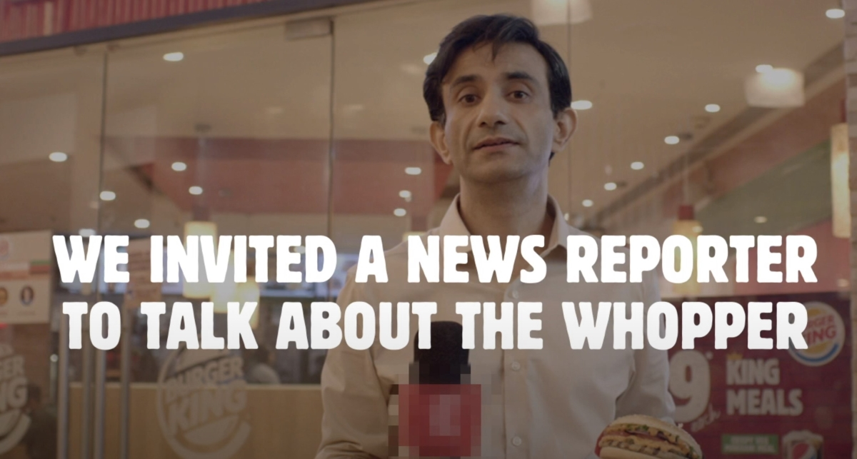 #AgainstSensationalism: Burger King Whopper gets reviewed by a sensational news reporter...