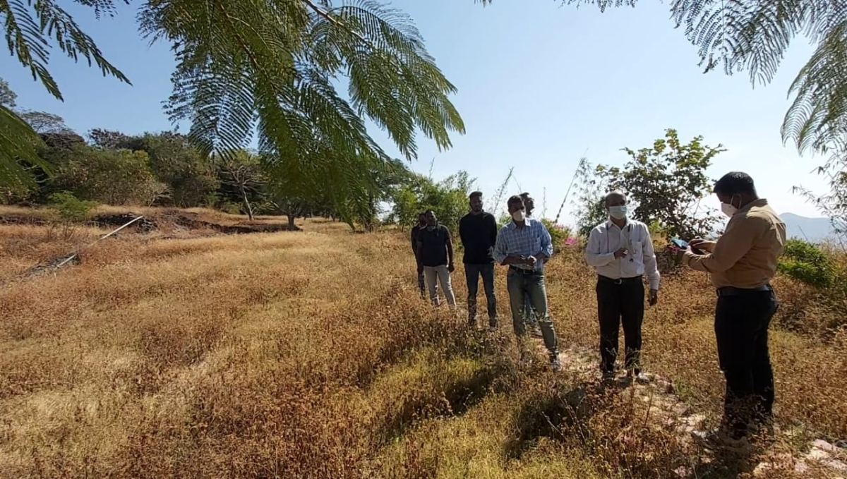Jain Irrigation lends support to Junnar Forest Department in the development of Devrai on Shivneri Fort