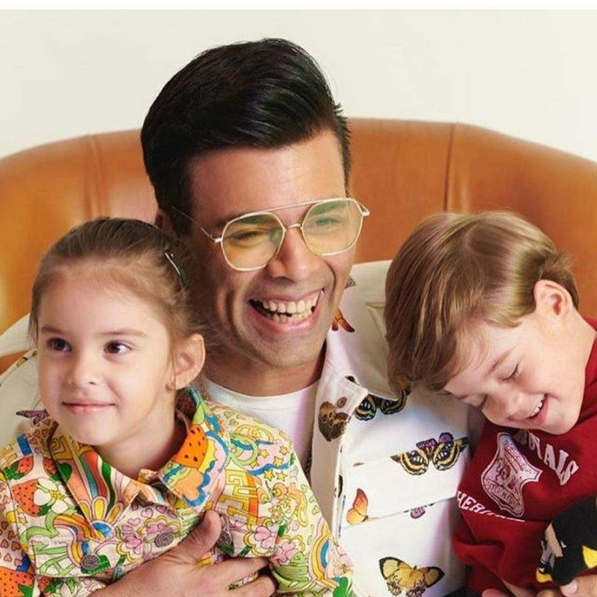 Watch: Karan Johar's twins Yash and Roohi ring in their birthday by roasting dad's sartorial choices