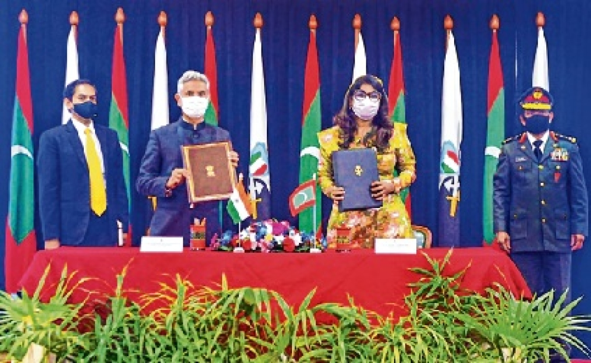Maritime capabilities: India, Maldives sign $50 million defence credit line agreement