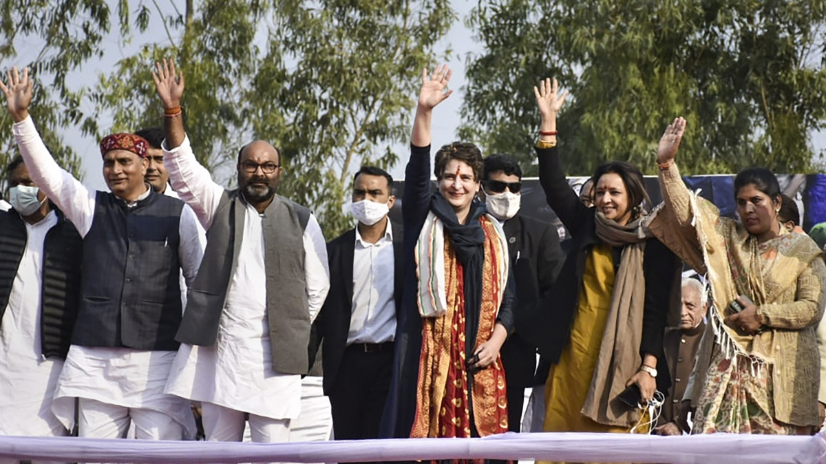Congress will withdraw 'draconian' farm laws, if voted to power again: Priyanka Gandhi Vadra