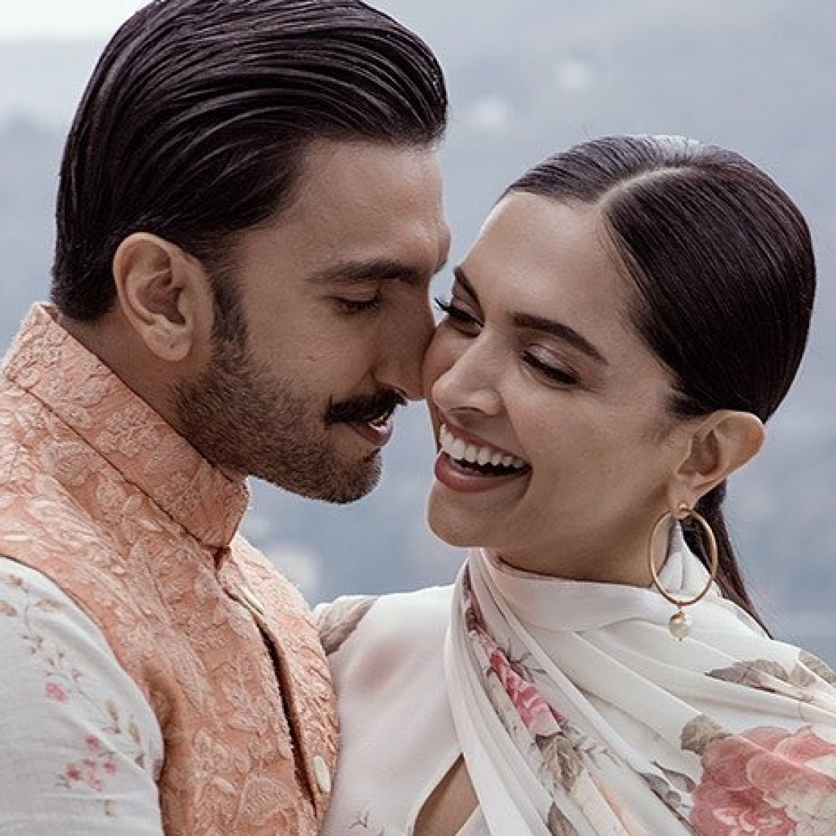 Deepika Padukone poses with Louis Vuitton's newest Coussin PM bag, but it is Ranveer's comment that is grabbing eyeballs