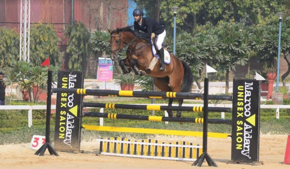 National Equestrian Championship:   Gold, silver for Mumbai's Setalvad brothers