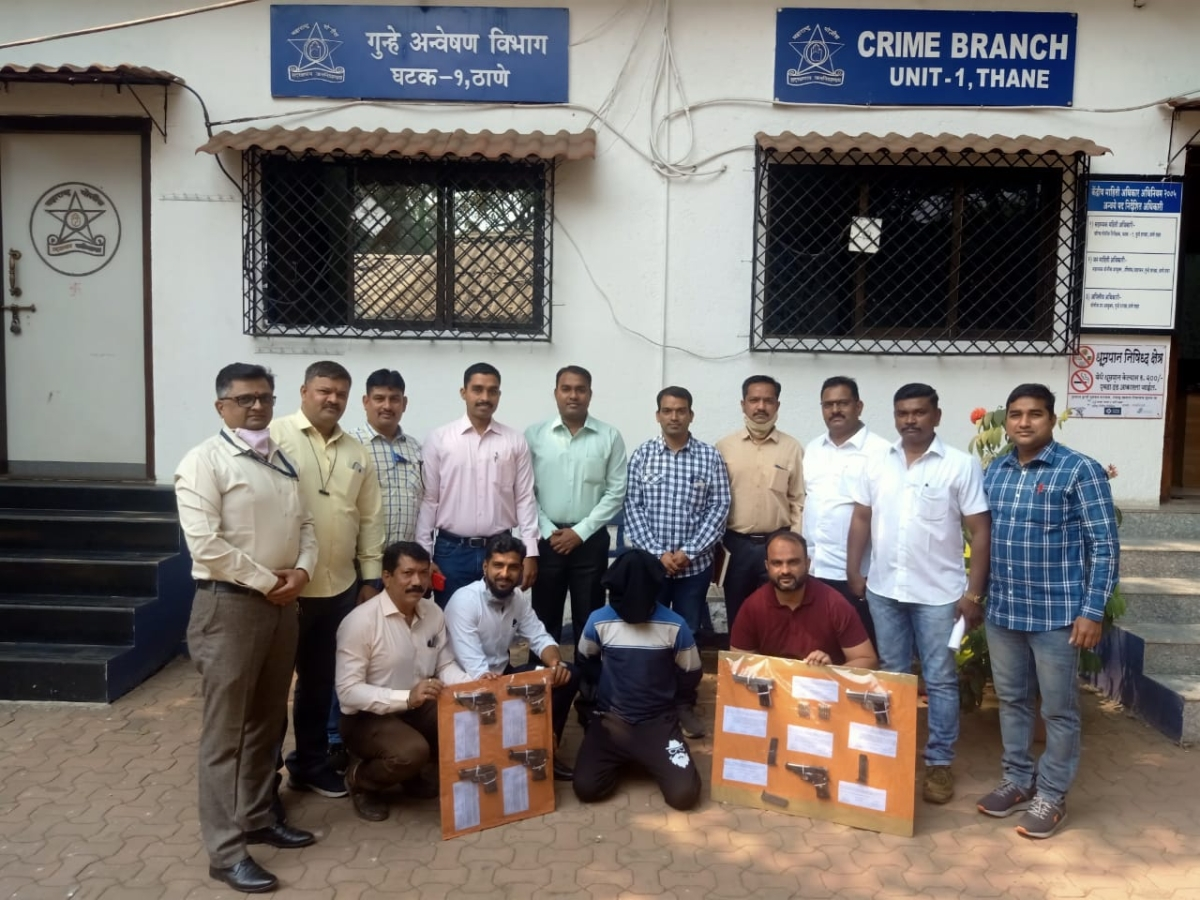 Thane: Police nab murder accused with guns, live bullets