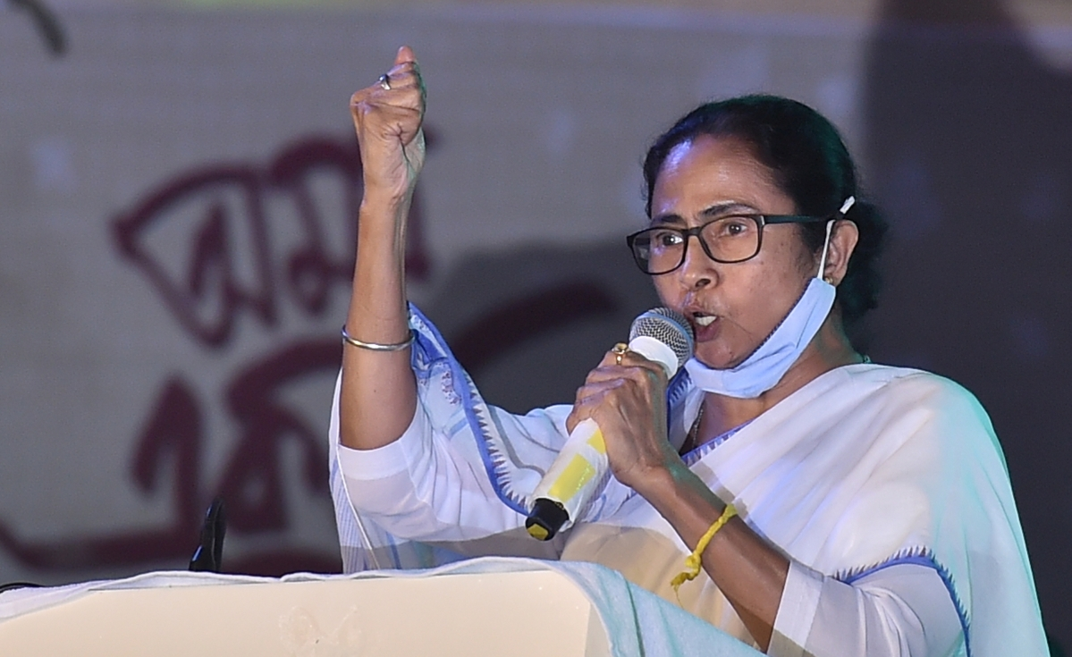 West Bengal CM Mamata Banerjee urges everyone to say 'Joy Bangla' instead of 'Hello'