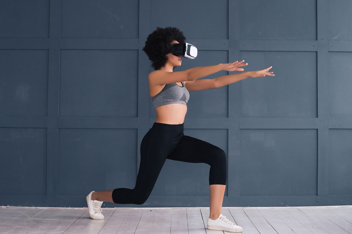 Working out in virtual reality may make you feel dizzy