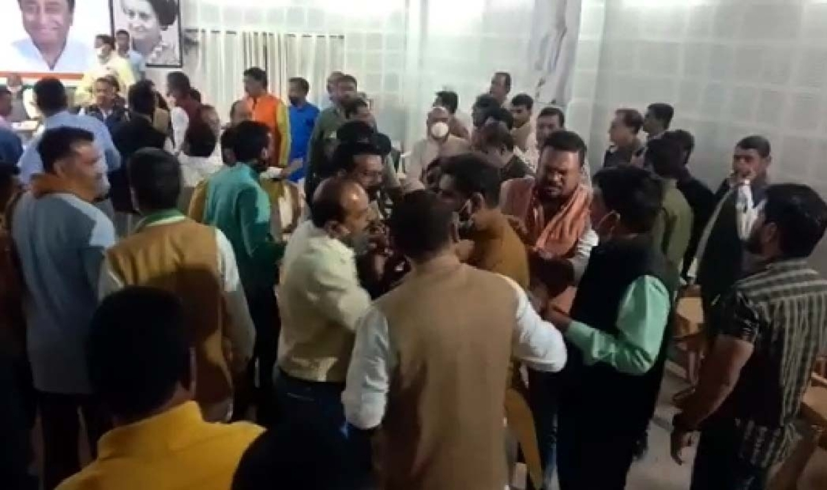 Bhopal: Congress leaders clash over bandh call