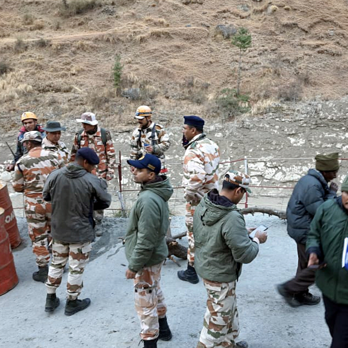 Uttarakhand glacier burst: ITBP intensifies search ops to rescue 30 people stranded at Tapovan tunnel