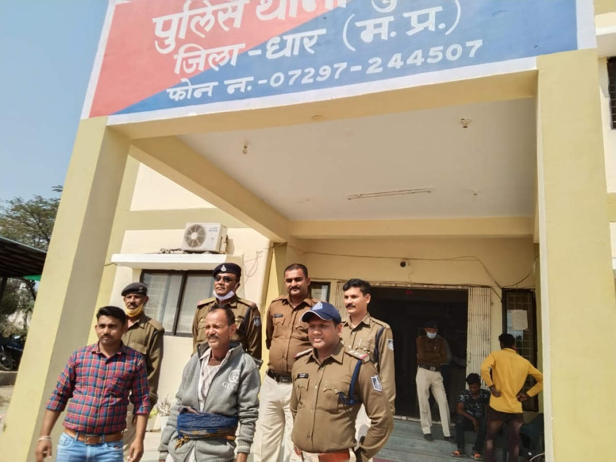DHAR: 16-year-old raped by 65-year-old man after abducting her from farm where she went to answer nature's call in morning, arrested