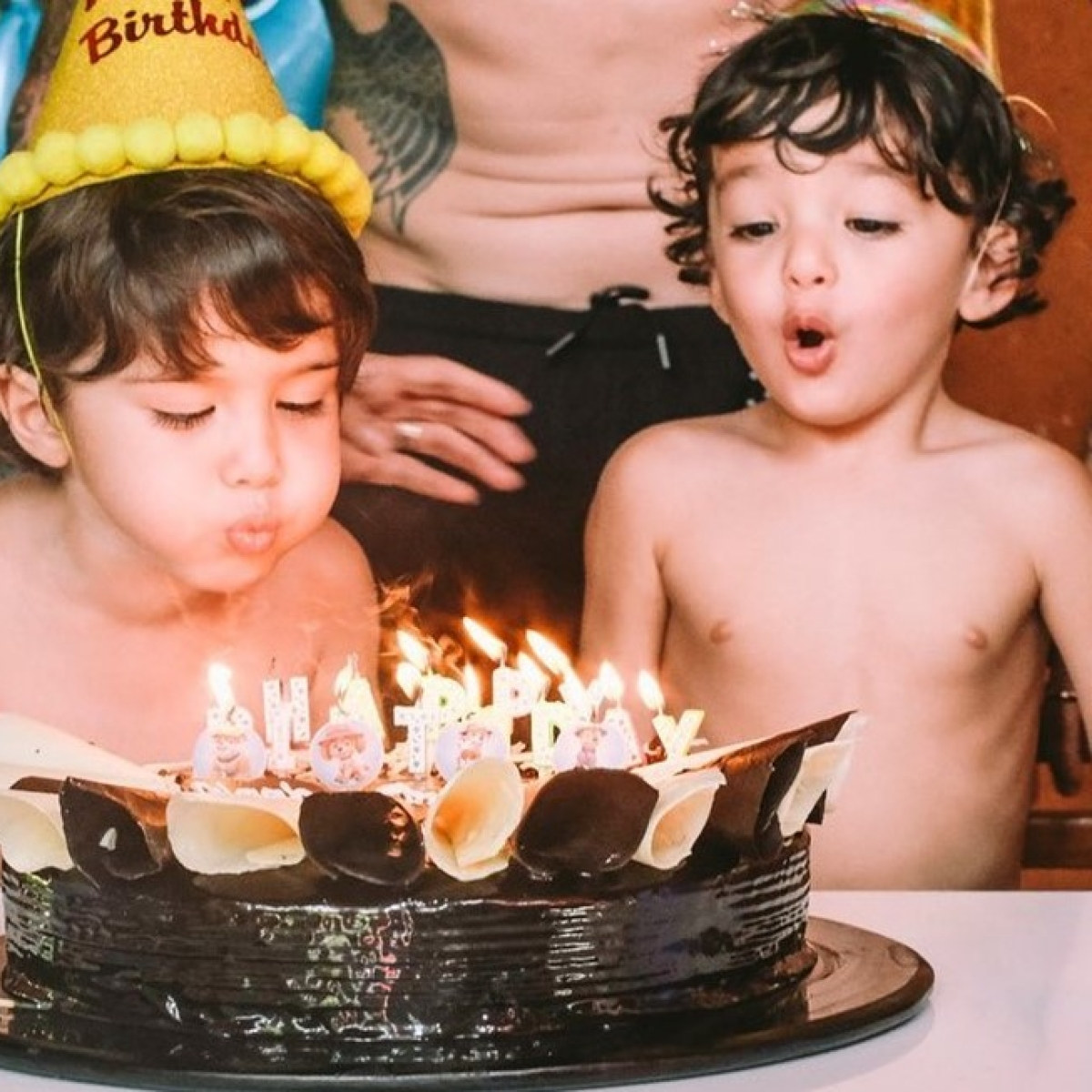 Sunny Leone shares an emotional note as her twins Noah and Asher turn 3