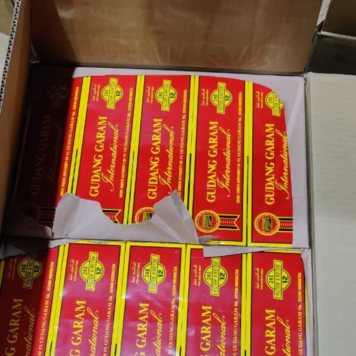 Mumbai: Directorate of Revenue Intelligence seizes foreign cigarettes worth Rs 4.75 crore being smuggled from Dubai