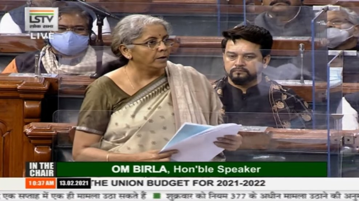 Budget 2021 has set the pace for India to become Aatmanirbhar: Nirmala Sitharaman in Lok Sabha