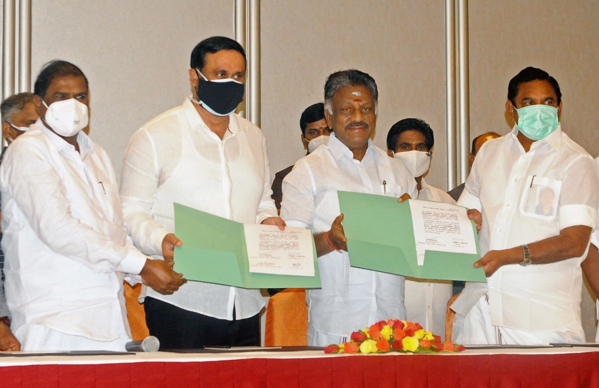 Tamil Nadu Assembly polls: AIADMK clinches deal with ally PMK
