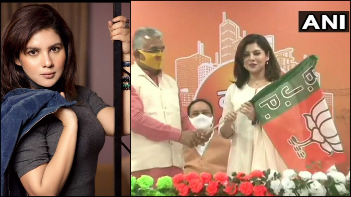 West Bengal: Actor Paayel Sarkar joins BJP in Kolkata