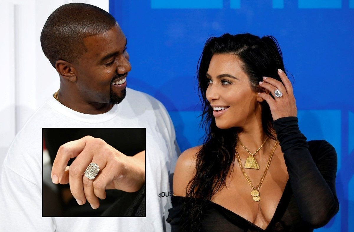When Kanye West proposed to Kim Kardashian with a Rs 32.6-crore engagement ring!
