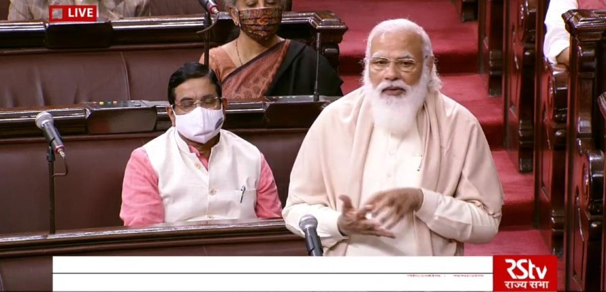 Watch: PM Modi gets emotional on farewell of Congress' Rajya Sabha leader Ghulam Nabi Azad