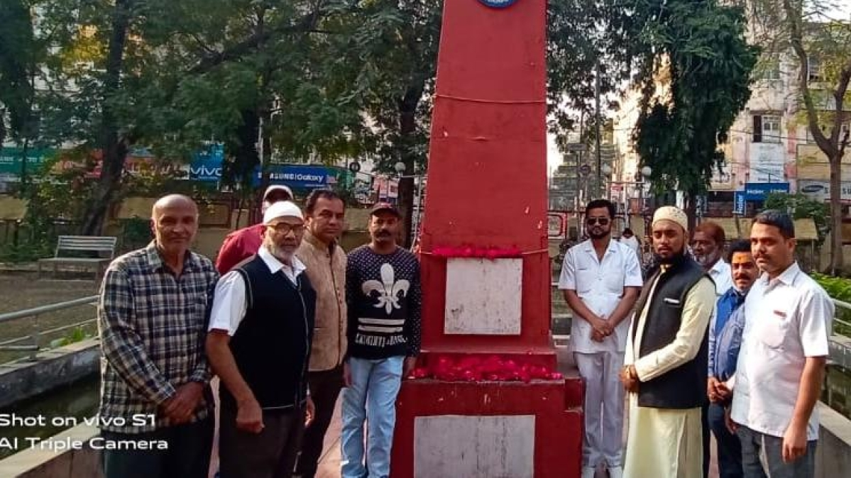 Sir Syed Ahmed Welfare Society pays tributes to the 44 brave CRPF personnel, who were martyred in a terrorist attack in Pulwama two years ago in Ujjain  on Sunday