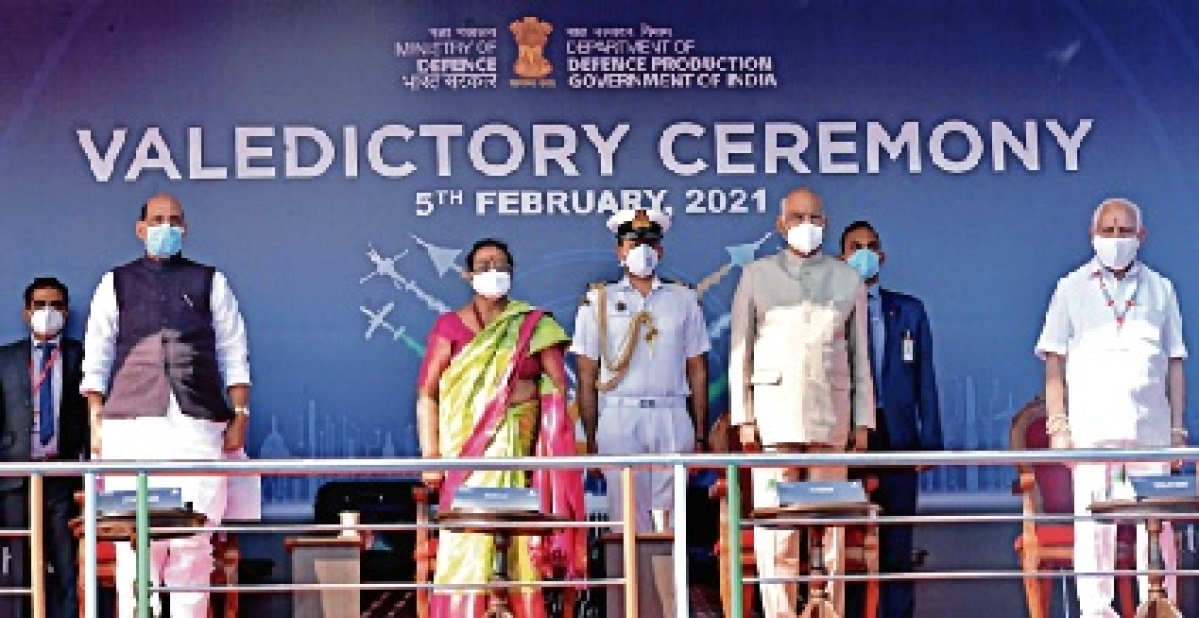 Aero India-2021: Unprecedented success, says President Ram Nath Kovind