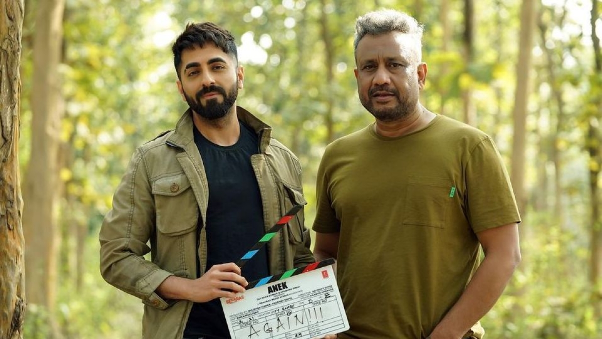 Ayushmann Khurrana reunites with Anubhav Sinha for action-thriller 'Anek'
