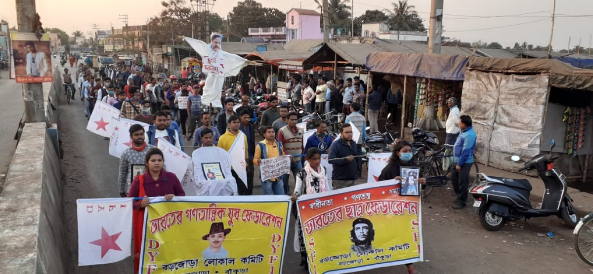 West Bengal: DYFI and SFI students' clash with cops over death of DYFI leader Maidul Islam Middya; Opposition cry foul