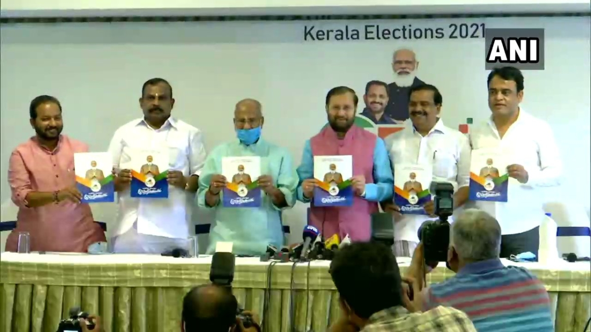 Prakash Javadekar releases manifesto for Kerala Assembly polls: Here are highlights of the BJP manifesto
