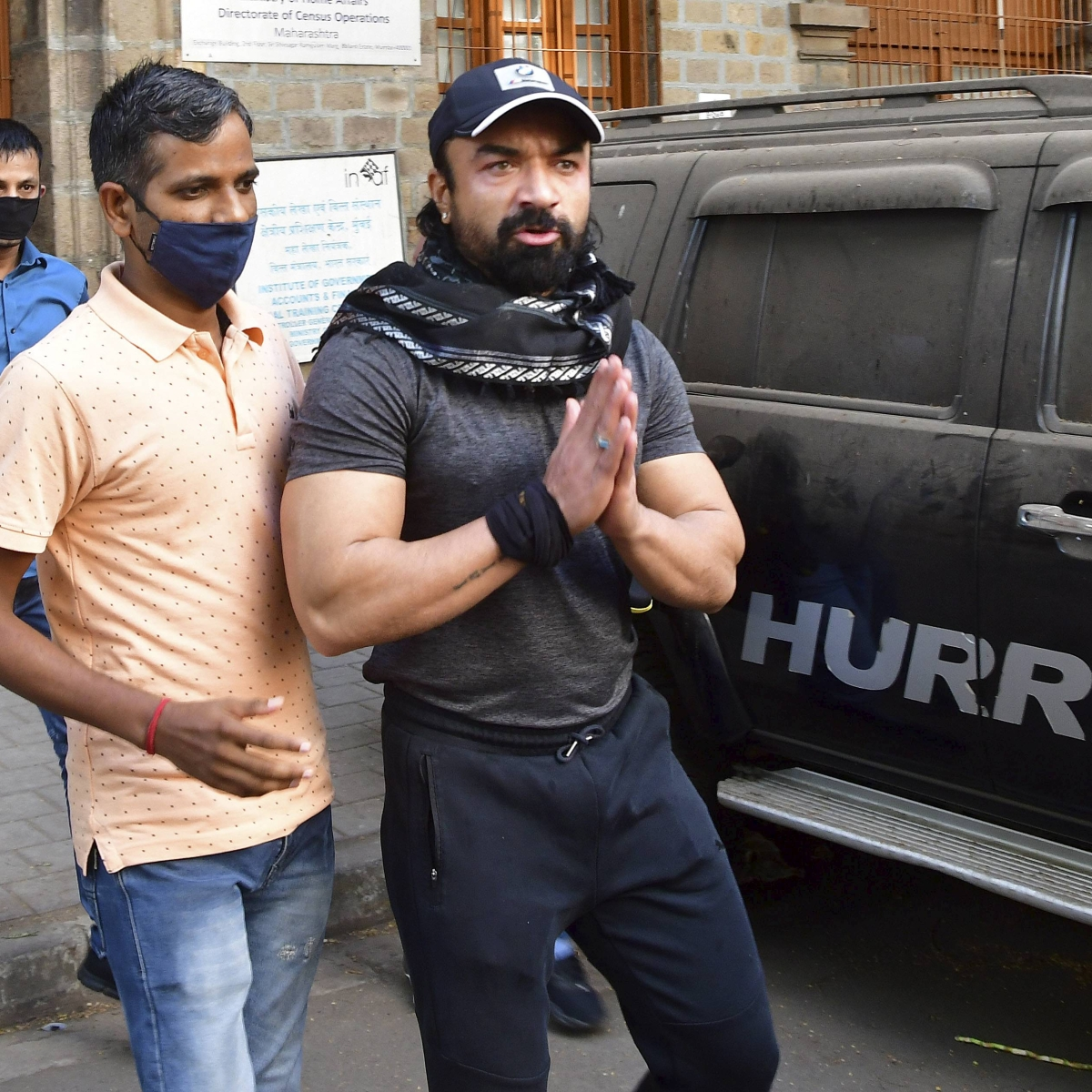 Mumbai: Actor Ajaz Khan remanded to NCB custody till April 3