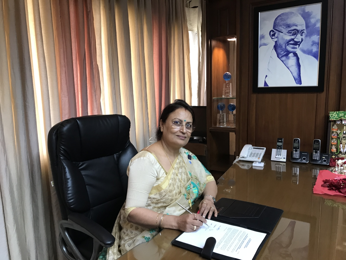 SCI's growth trend is expected to continue during the next quarter, says its managing director Harjeet Kaur Joshi