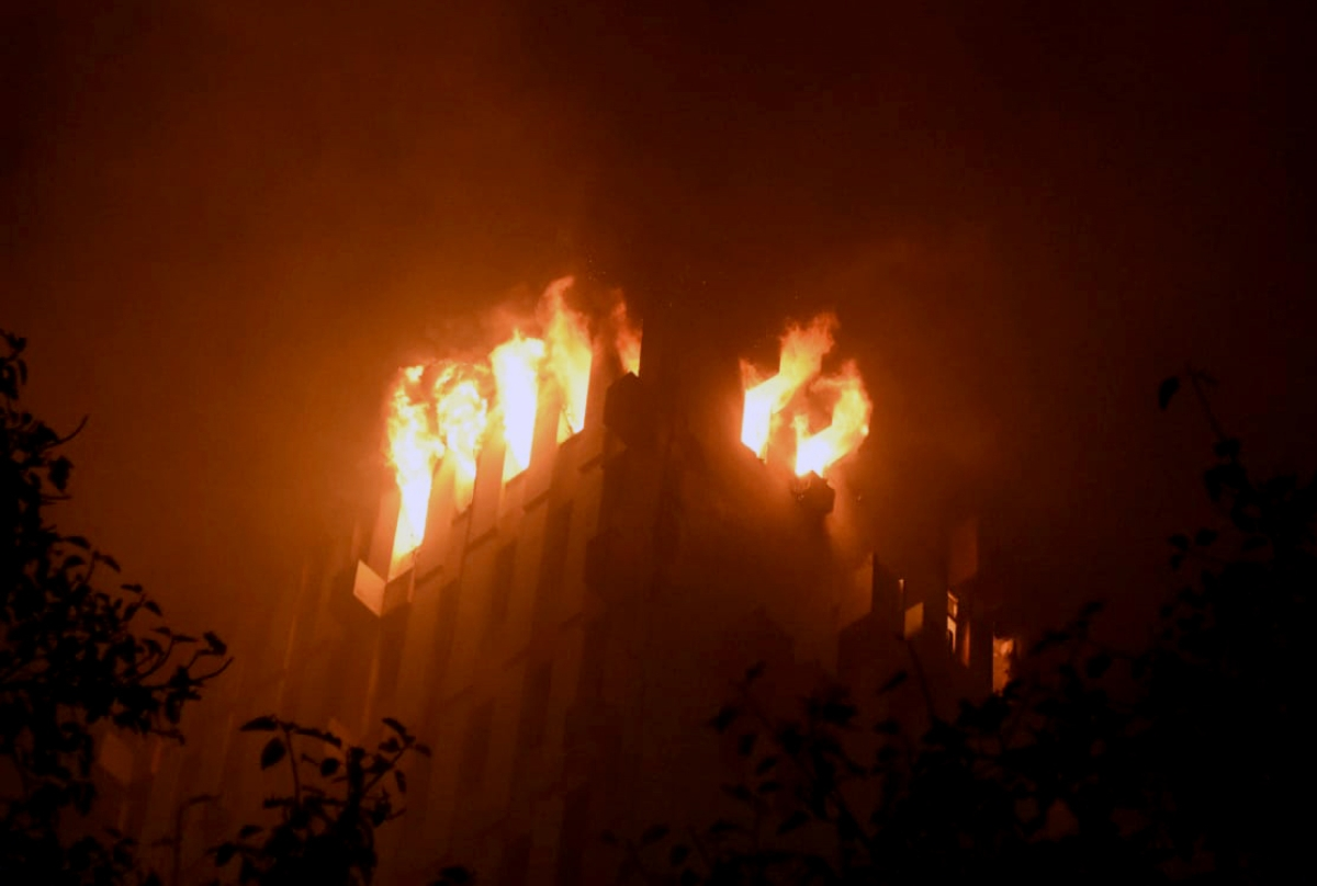 Kolkata: Seven killed in fire in Railways building; Mamata Banerjee announces Rs 10 lakh ex-gratia