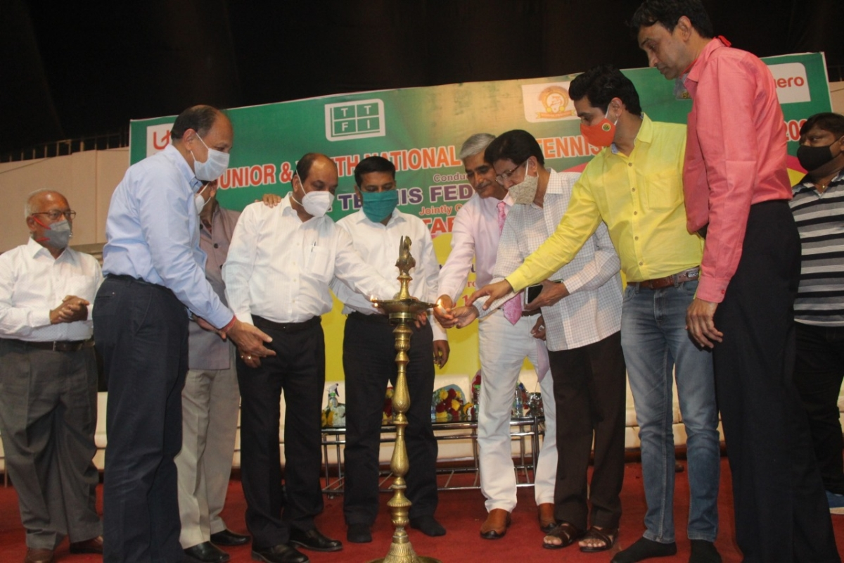 Inaugural function for national table tennis championship in Indore on Monday