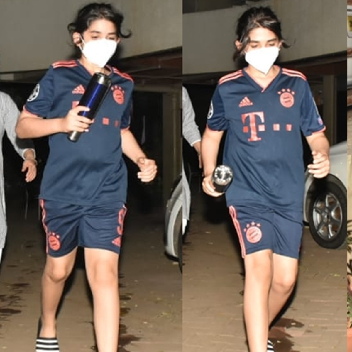In Pics: Karisma Kapoor's son Kiaan looks unrecognisable as he sports long hair in a ponytail