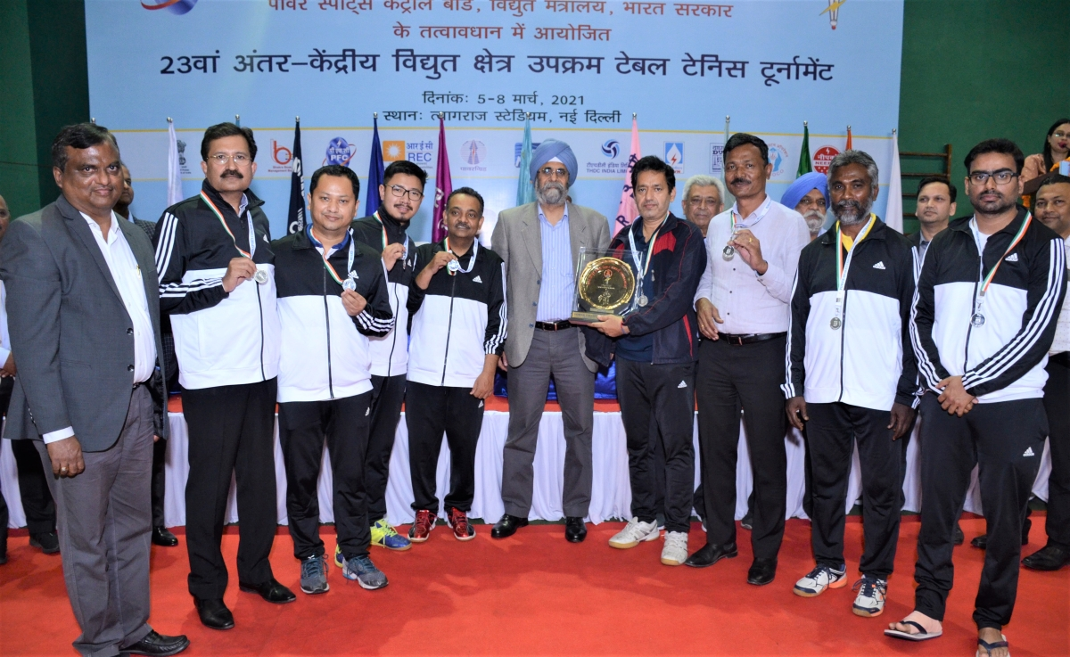 PFC organises 23rd Inter CPSU Table Tennis Tournament in collaboration with Power Sports Control Board