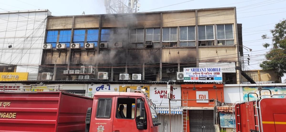 Mumbai: Fire in Metro hotel in Kurla, firefighting underway