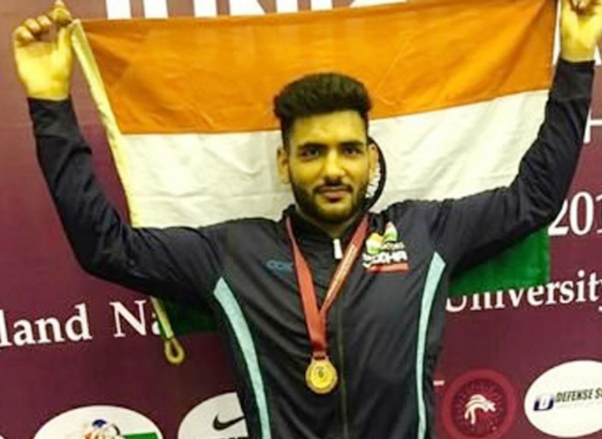 Wrestler Sandeep Singh Mann books 74kg slot for next month's Olympic Qualifiers in Kazakhstan