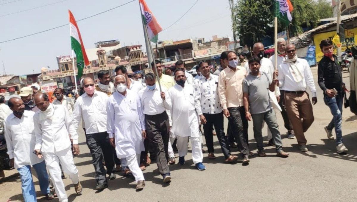 Madhya Pradesh: Declare Malhargarh Tehsil as drought-prone, demands Congress
