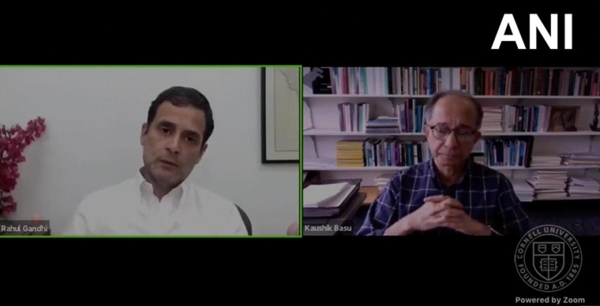 'No internal democracy in BJP, BSP and Samajwadi Party': Rahul Gandhi