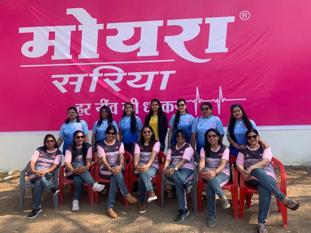 Winners of Pink team