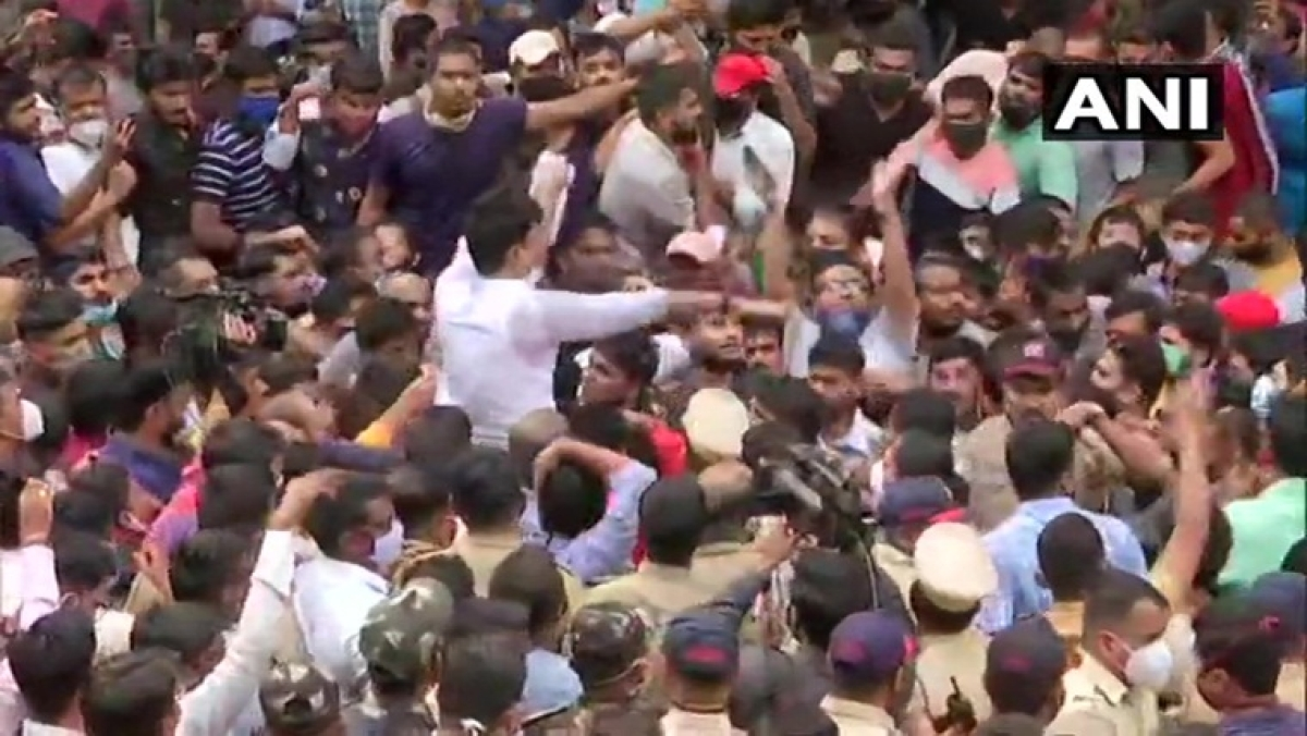 MPSC exams postponed: Students stage protests on streets of Pune