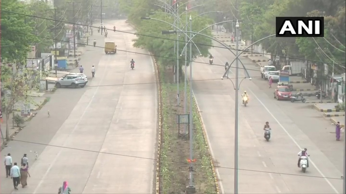 Watch: Traders out on street in Nagpur to protest against mini lockdown