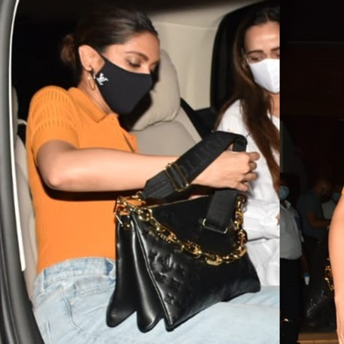 Deepika Padukone sports a 2.5 lakh Louis Vuitton bag for dinner date with sister Anisha