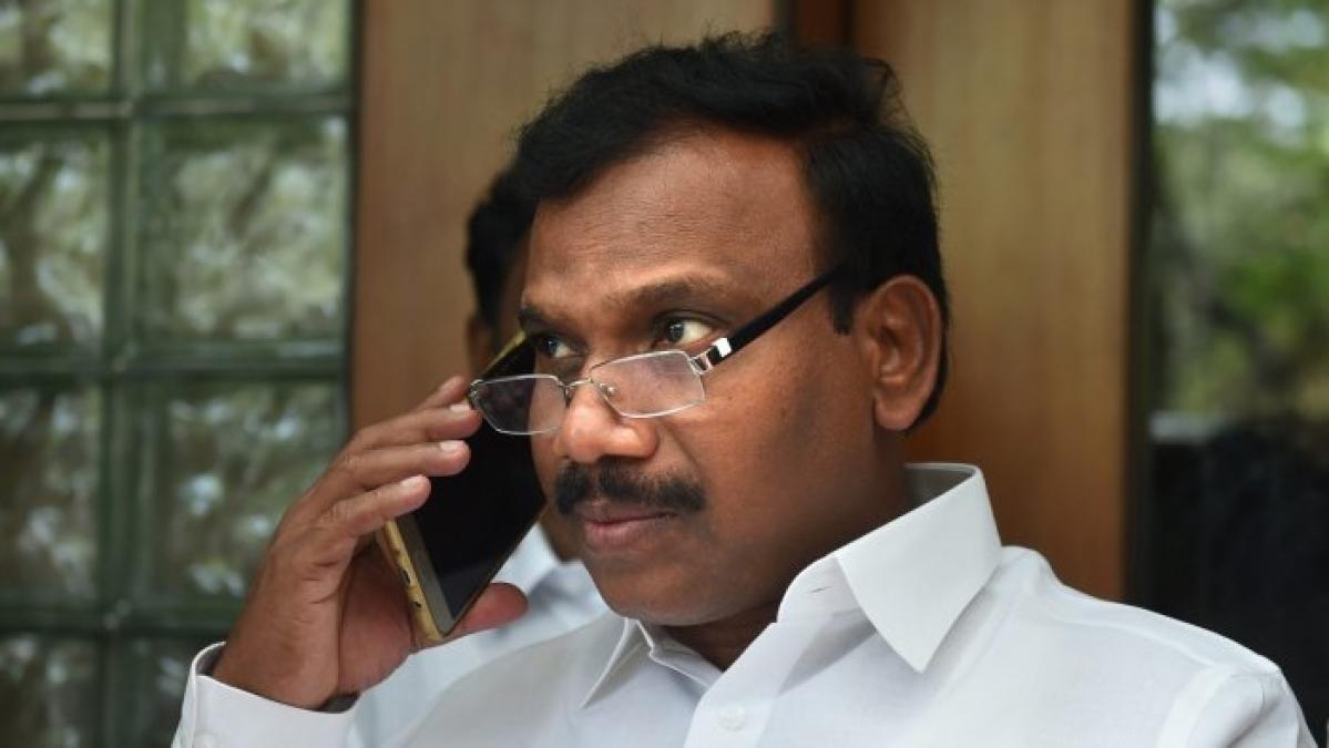DMK MP A Raja booked for 'vulgar' comments against Tamil Nadu CM Edappadi Palaniswami