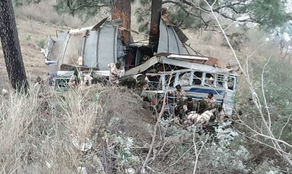 Himachal Pradesh: Eight Dead, 11 injured as bus falls into gorge in Chamba