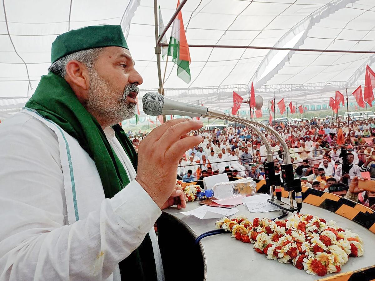Will go to Kolkata, urge farmers to defeat BJP in polls: BKU leader Rakesh Tikait