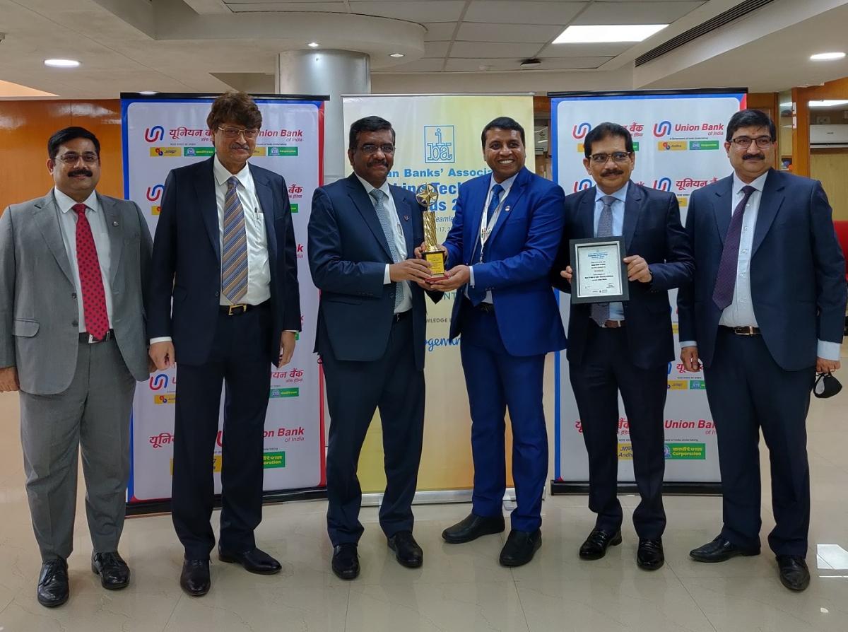 Union Bank Of India bags prestigious IBA award