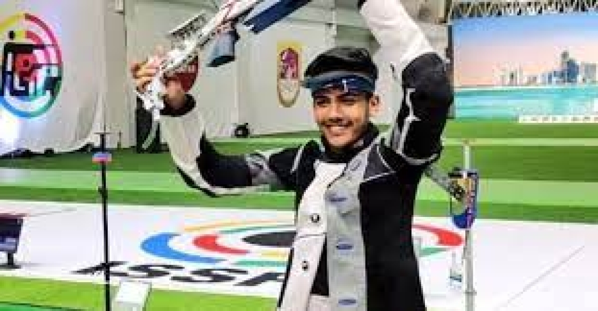 Bhopal: ISSF World Cup: Aishwary Pratap Tomar wins gold in men's 50m rifle 3 positions event