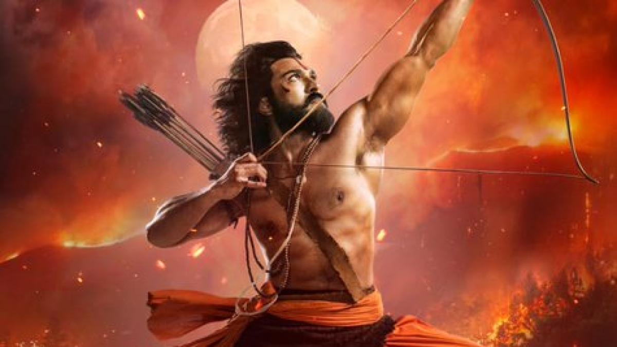 RRR: Makers unveil first look poster featuring Ram Charan as 'Alluri Sita Ramaraju'