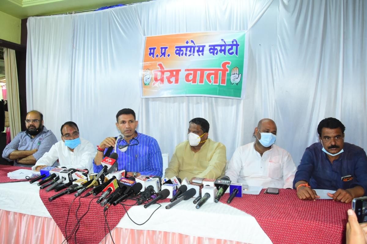 Ujjain: Tug of war continues over Master Plan, 2035 as Congress leader Jitu Patwari opens front against Cabinet minister Yadav