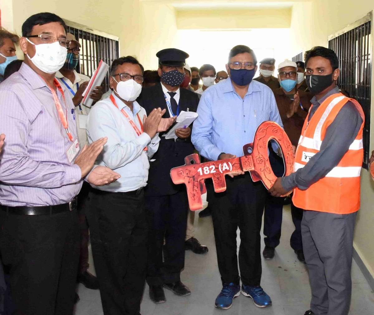 Alok Kansal, General Manager of Western Railway  conducts annual safety inspection In Bhavnagar Division