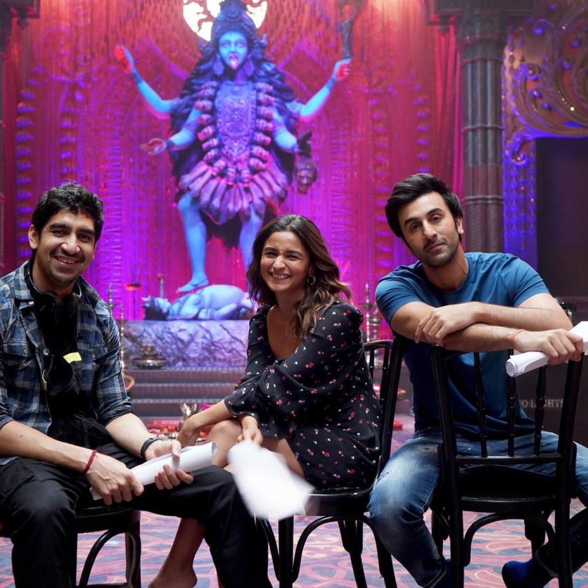 Brahmastra: Alia Bhatt shares BTS pics with 'magical boys' Ranbir Kapoor, Ayan Mukerji