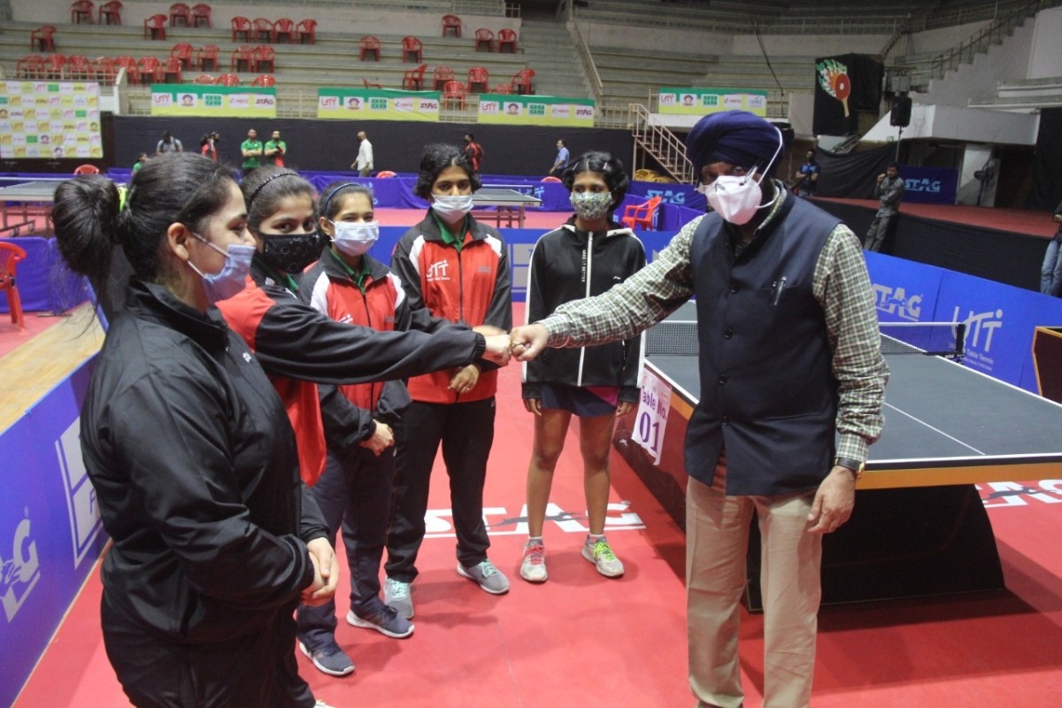 Indore: Tough first-round matches in junior, national table tennis championships