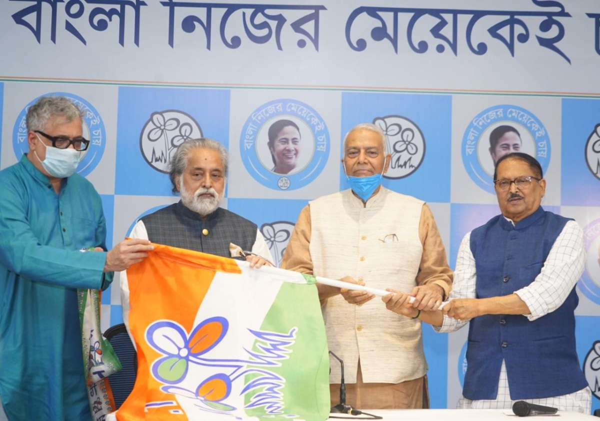 'India will not tolerate Modi-Shah's misrule anymore': Here's what Yashwant Sinha said after joining TMC ahead of Bengal polls